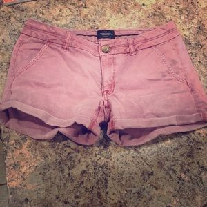 American Eagle Dusty Rose Colored Shorts